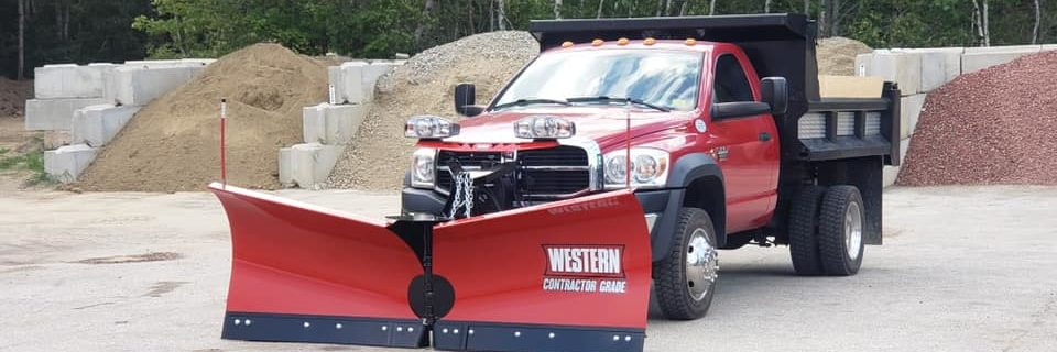 Commercial and residential snow equipment in stock!